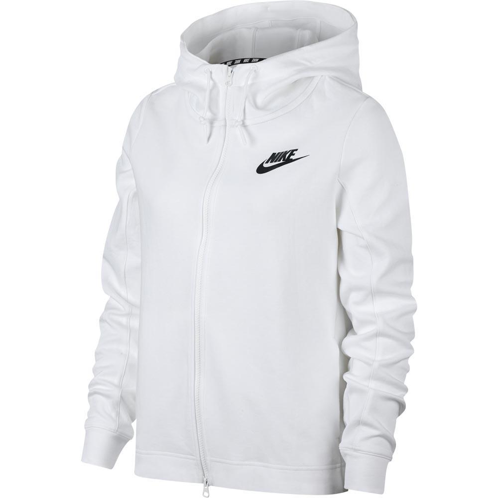 5fd40c6c957e Nike Sportswear Optic Full Zip Hooded White