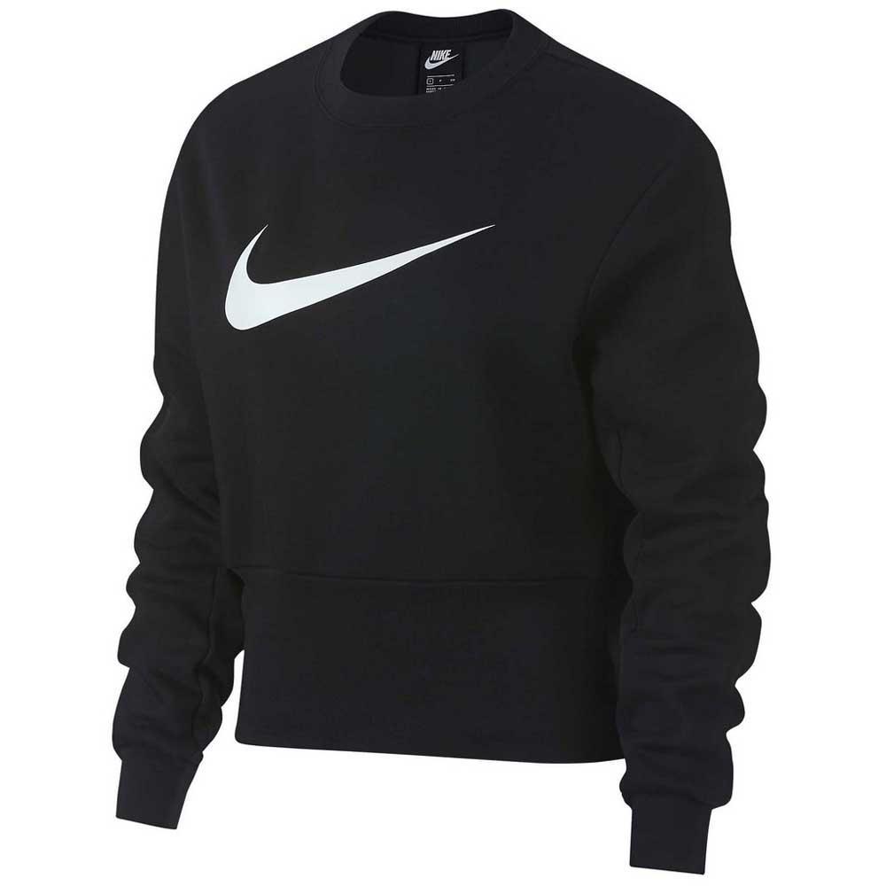 separation shoes bc2cc 14b17 Nike Sportswear Swoosh Crew Black buy and offers on Dressinn