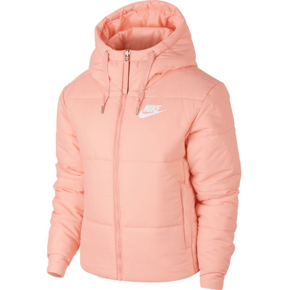 9d604512eadb Nike Sportswear Synthetic Fill Reversible Hooded Pink