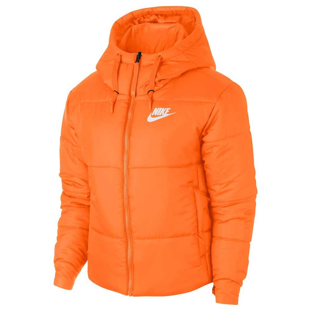 new styles 71753 39700 Nike Sportswear Synthetic Fill Reversible Hooded Orange, Dressinn