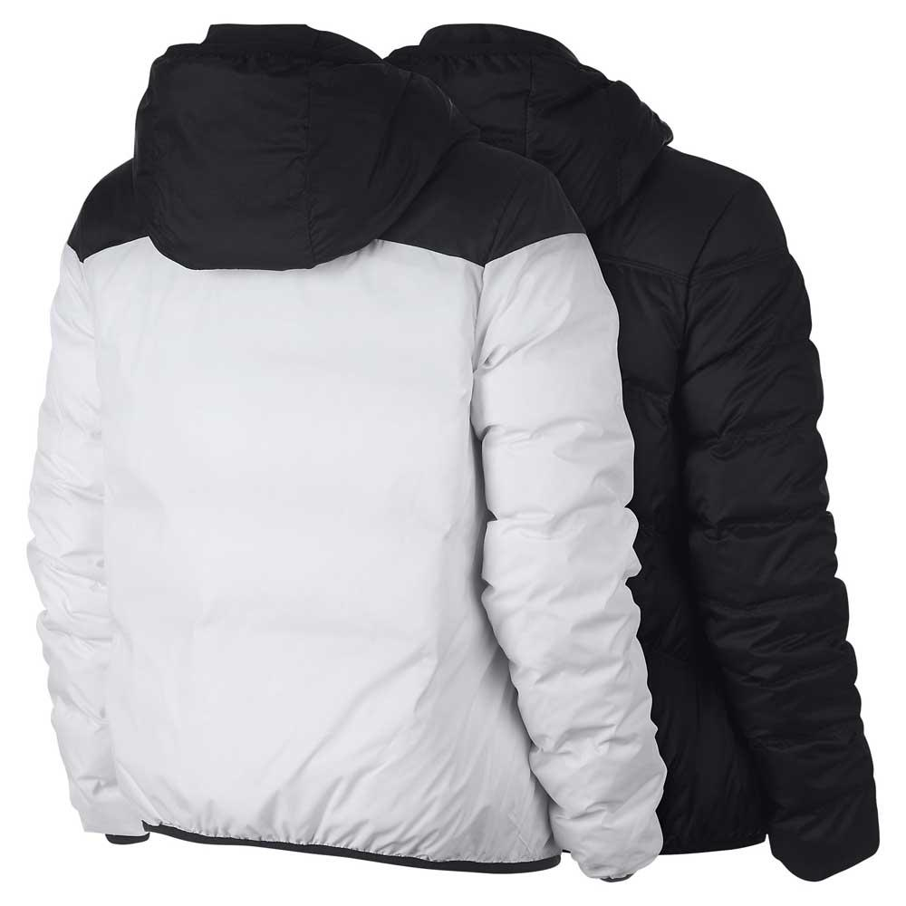 18c1ef845a70 Nike Sportswear Windrunner Down Fill Reversible White