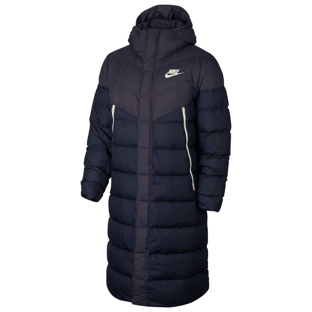 51259304 Nike Sportswear Down Fill Windrunner Hooded Голубой, Dressinn Пальто ...