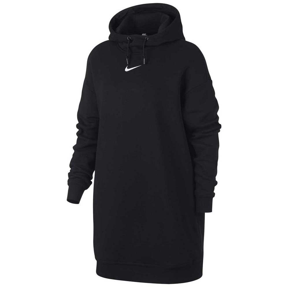 the latest 106c6 5f0c5 Nike Sportswear Swoosh Hooded Black buy and offers on Dressinn