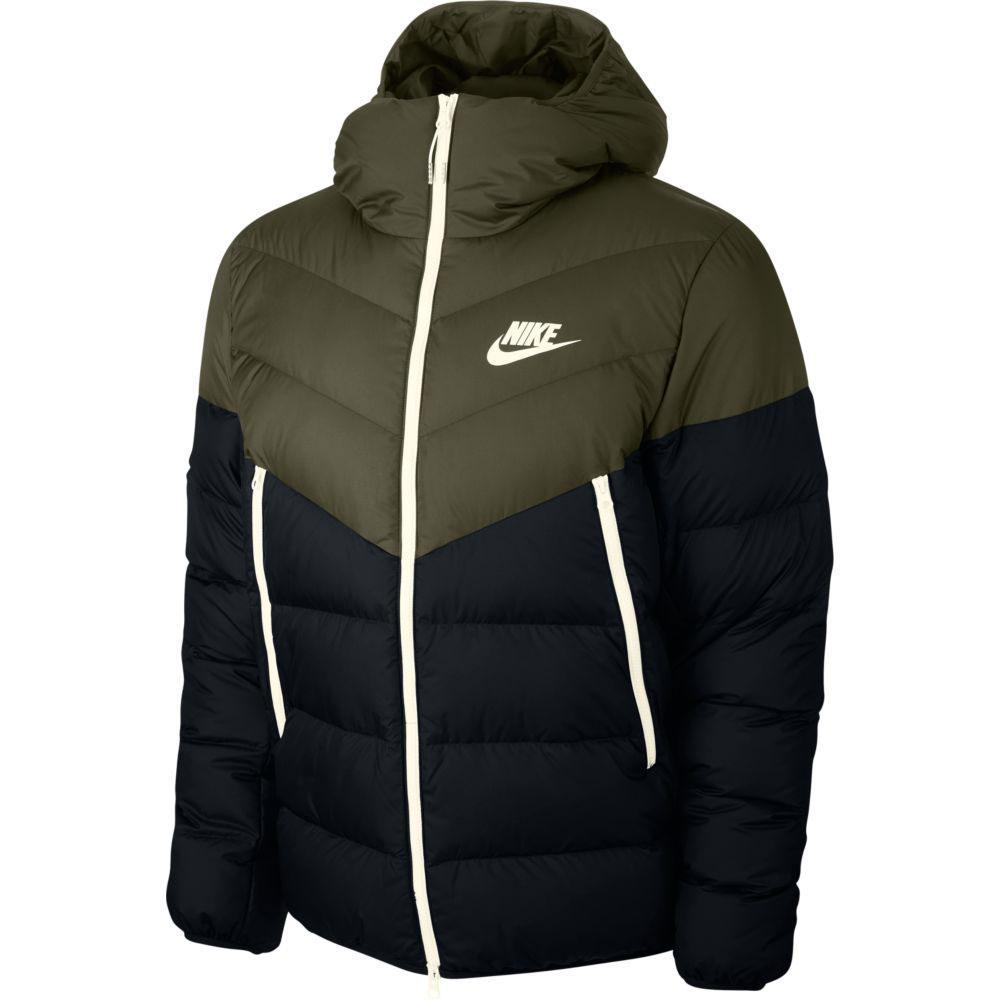 Nike Sportswear Down Fill Windrunner Hooded Rus Green ...