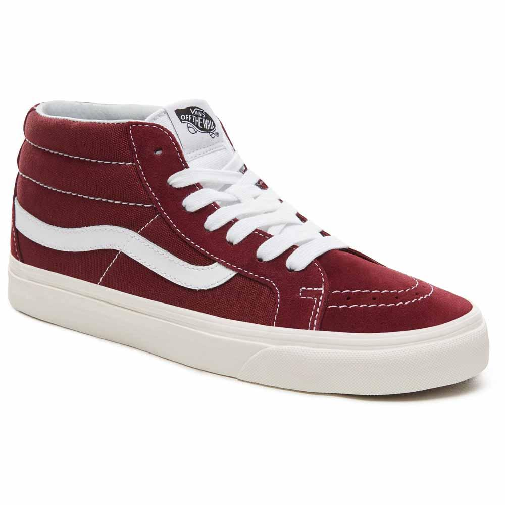 Vans Sk8 Mid Red buy and offers on Dressinn