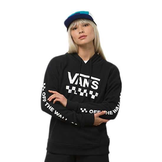 d7e42204ac Vans Too Much Fun Hooded Black buy and offers on Dressinn
