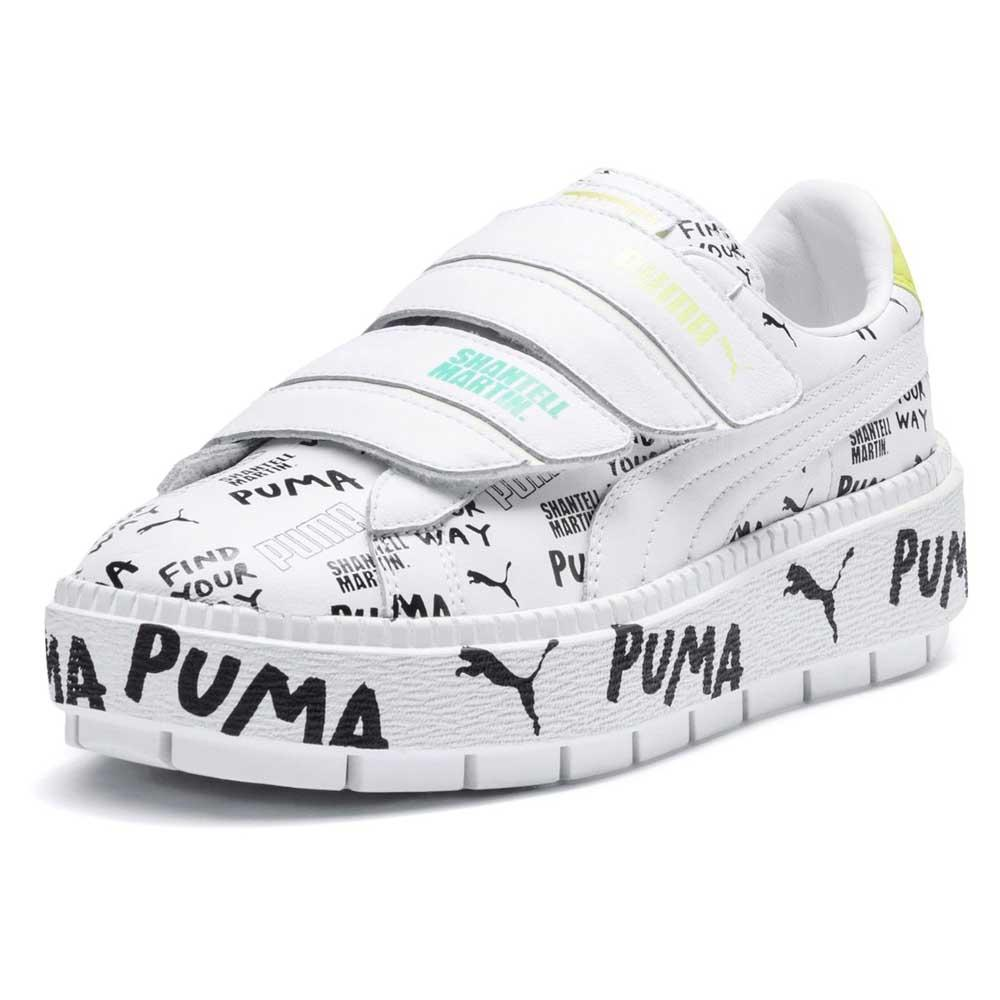 Sneakers Donna | PLATFORM TRACE STRAP Nero | Puma