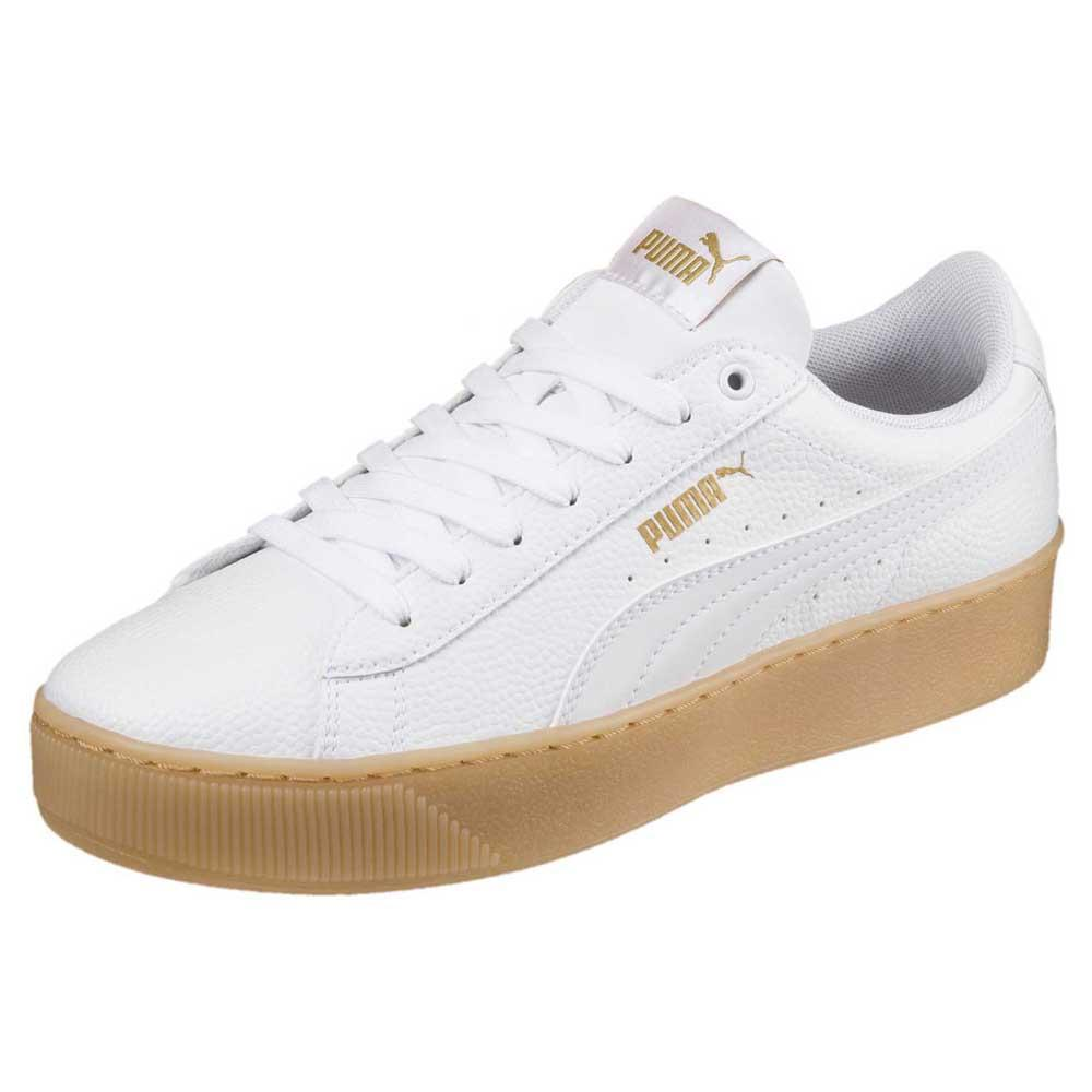 timeless design 0df78 8e56a Puma Vikky Platform VT White buy and offers on Dressinn