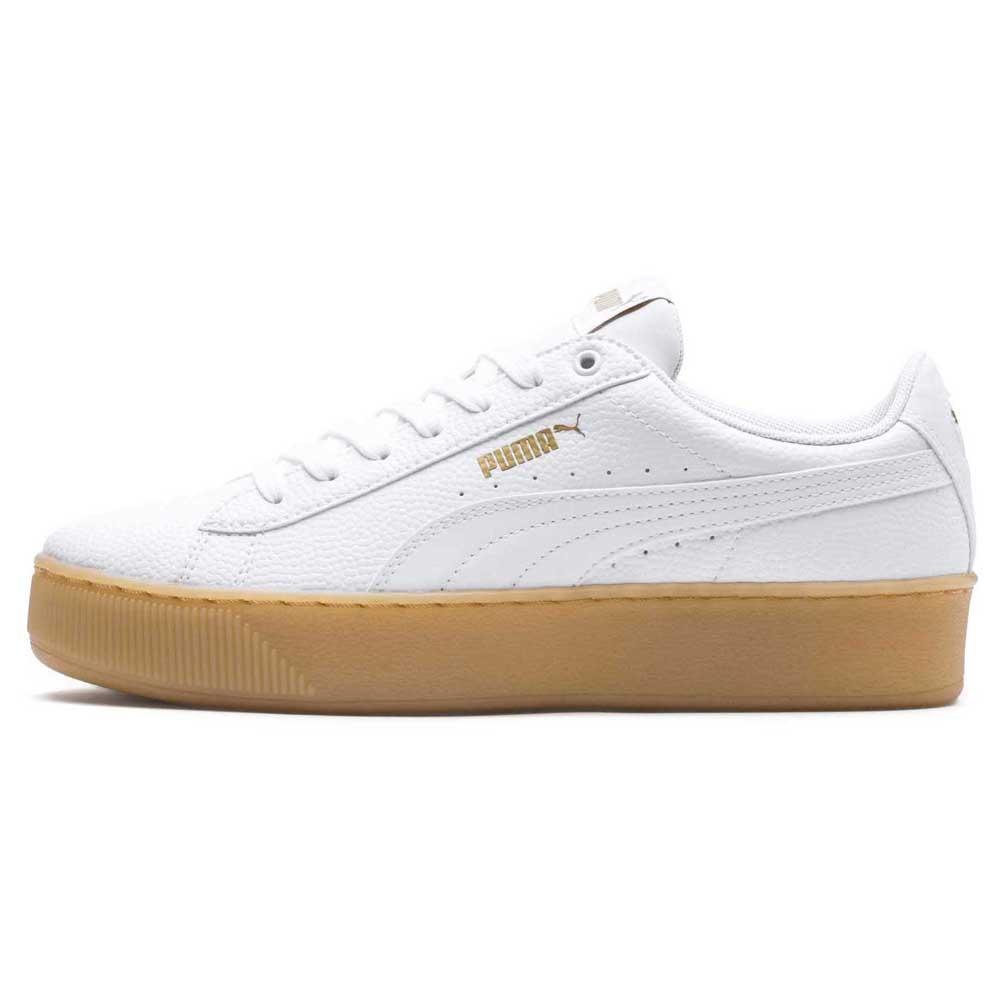 c4ac3abf471f Puma Vikky Platform VT White buy and offers on Dressinn