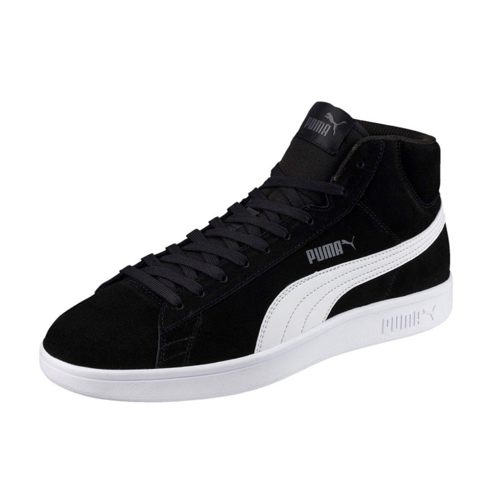 d45b96f129b Puma Smash v2 Mid SD Black buy and offers on Dressinn