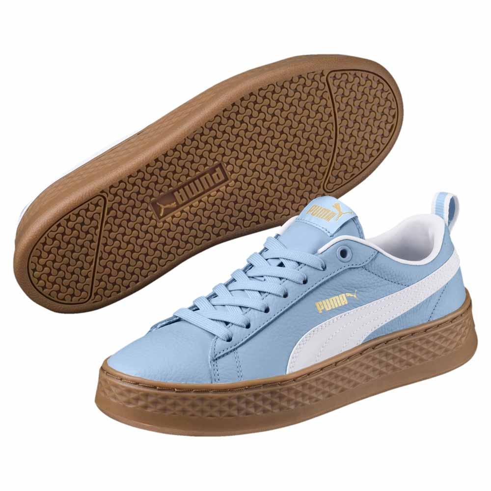320f01a1652ed0 Puma Smash Platform VT Blue buy and offers on Dressinn