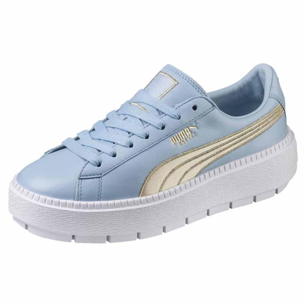 puma platform trace varsity sneakers