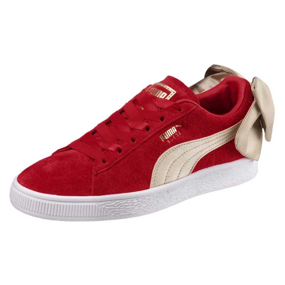 huge sale presenting good texture Puma select Suede Bow Varsity