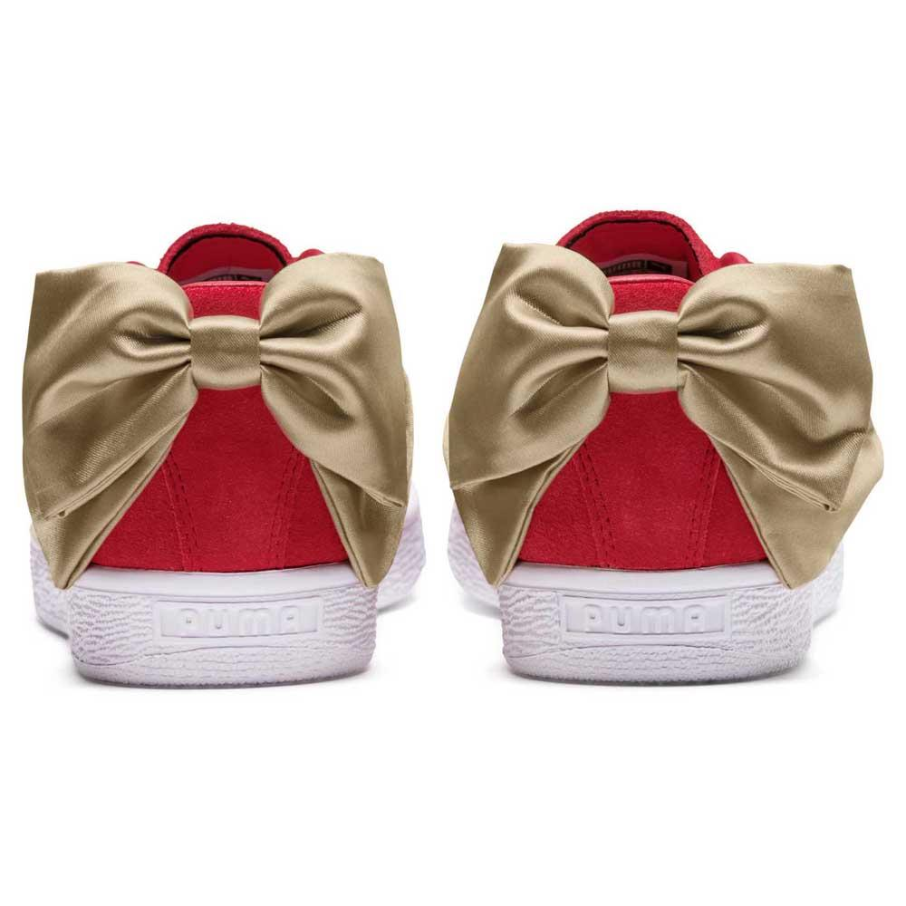 Puma select Suede Bow Varsity Red buy and offers on Dressinn 108e88eca