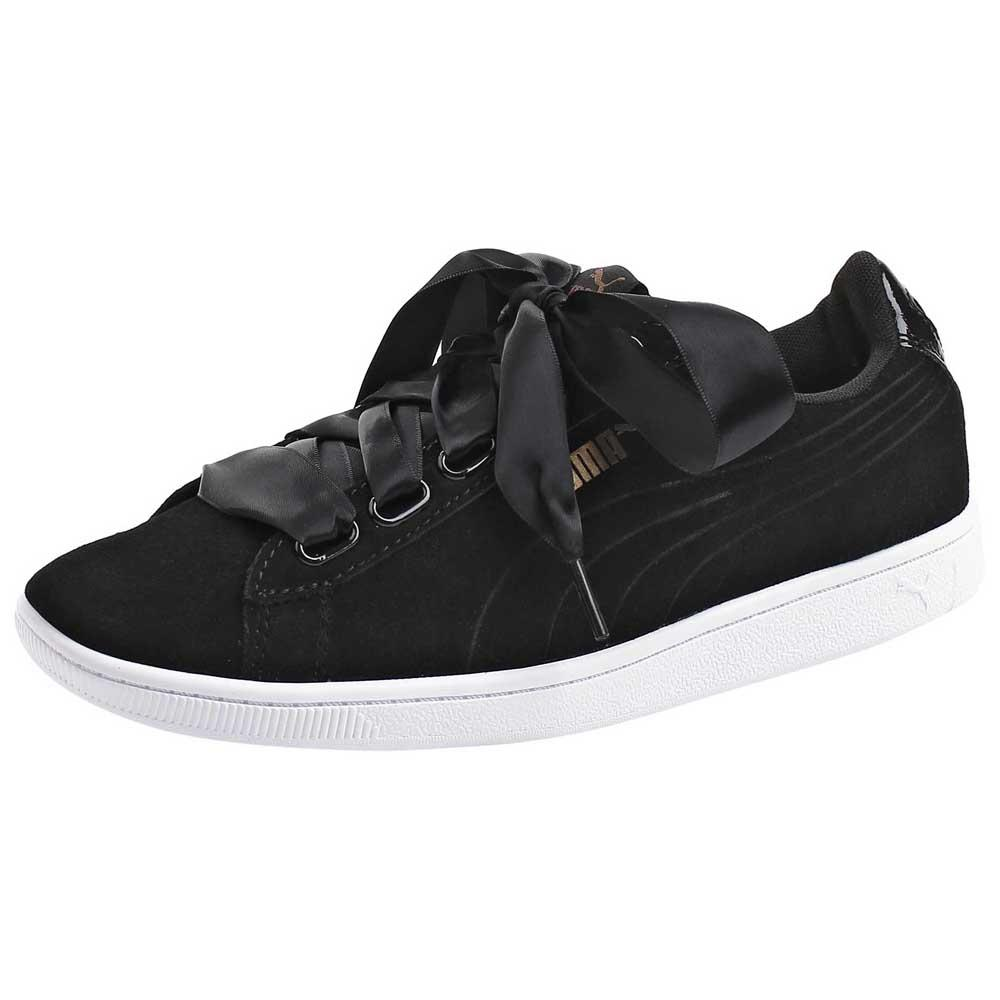 014c6a9e6bfc Puma Vikky Ribbon SD P Black buy and offers on Dressinn