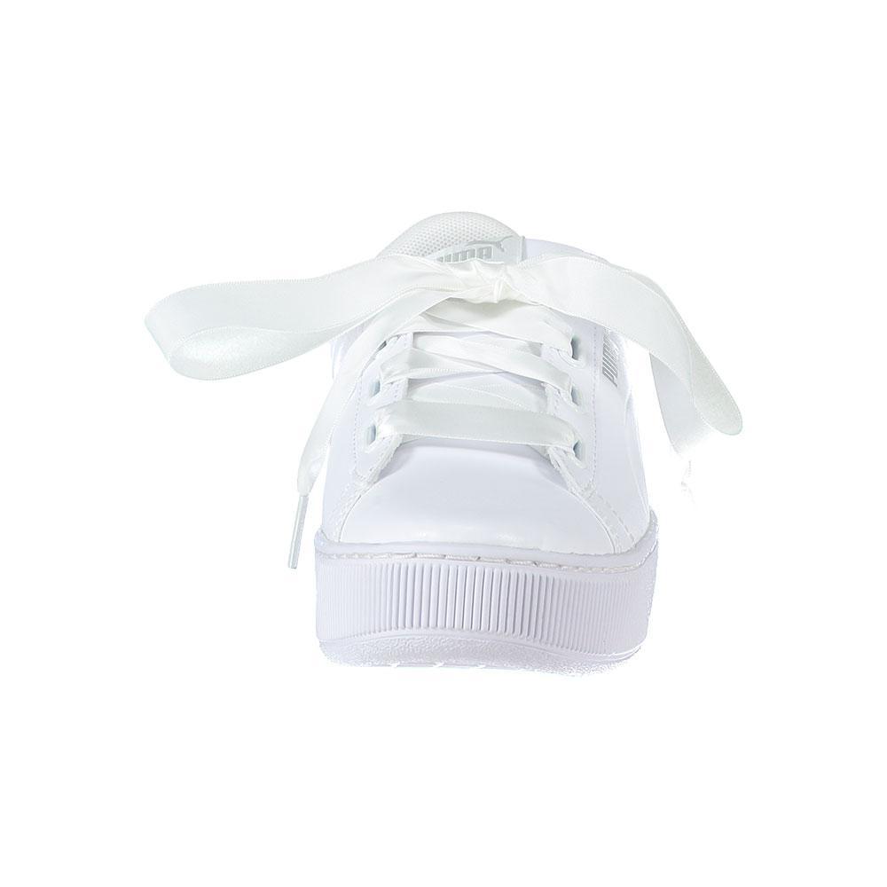 puma vikky ribbon white