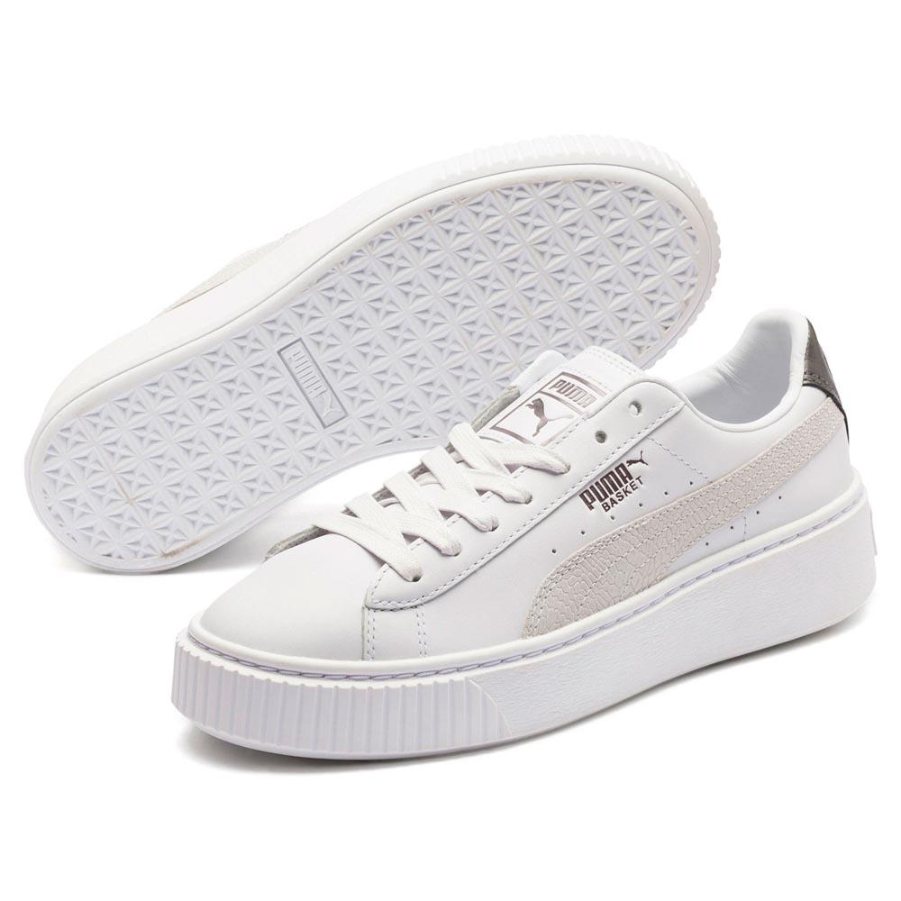 watch f4fcd b684a Puma select Basket Platform Euphoria Metallic