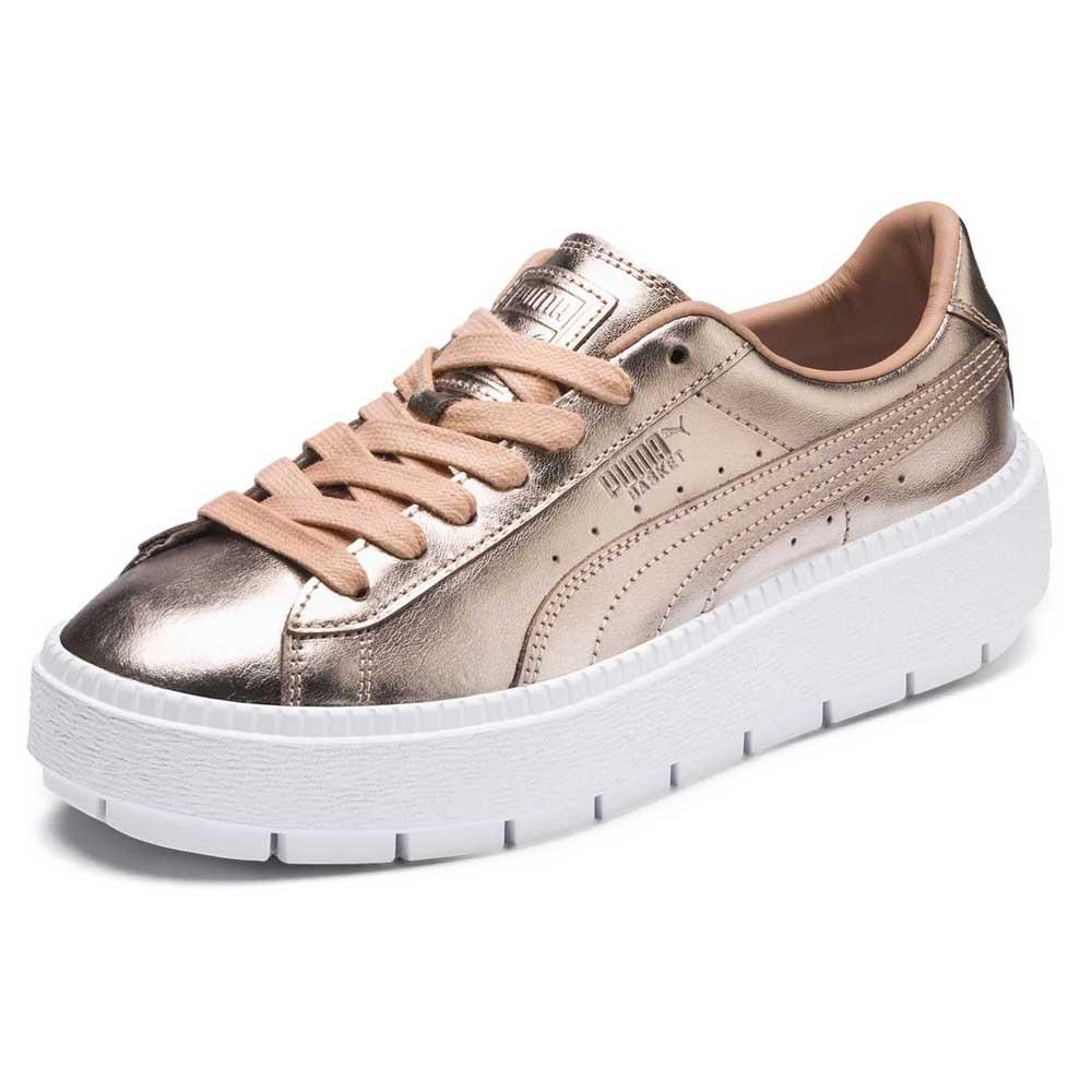 hot sale online 373dc 1bb8e Puma select Basket Platform Trace Luxe