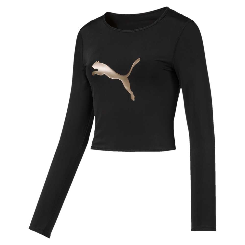 big sale b2c67 37f09 Puma select Luxe Crop Black buy and offers on Dressinn
