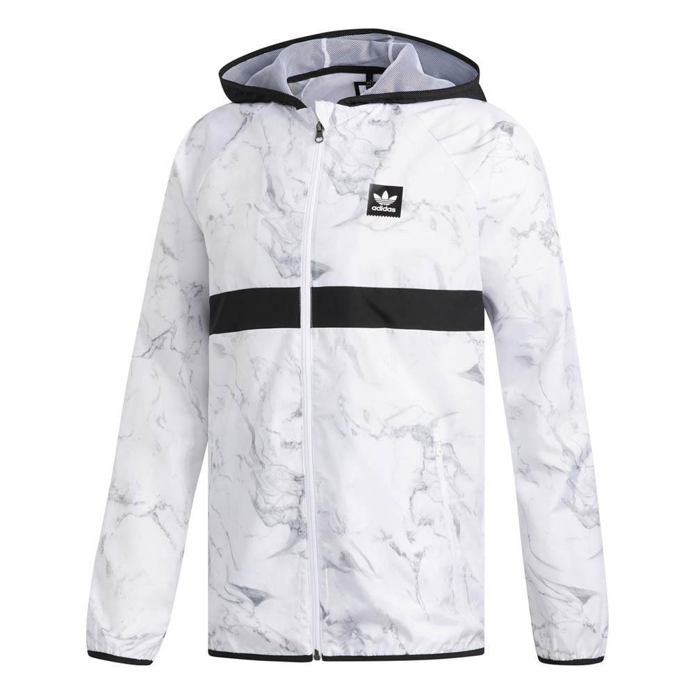 adidas originals Marble BB Packable Hvit, Dressinn Jakker