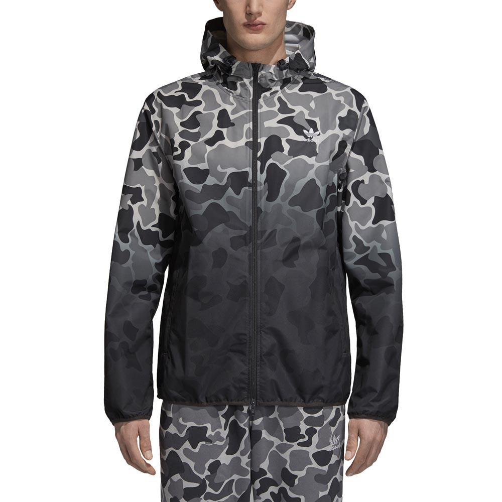 adidas originals Camo Windbreaker Gris, Dressinn