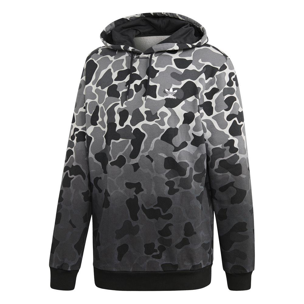 adidas Hoodie Camo Bb HD (blackcamo printcollegiate orange)