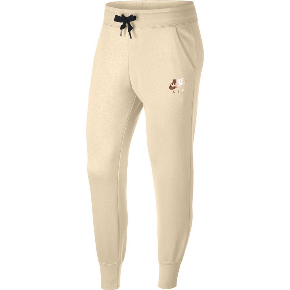 615e9effb1583 Nike Air Pants Regular Beige buy and offers on Dressinn