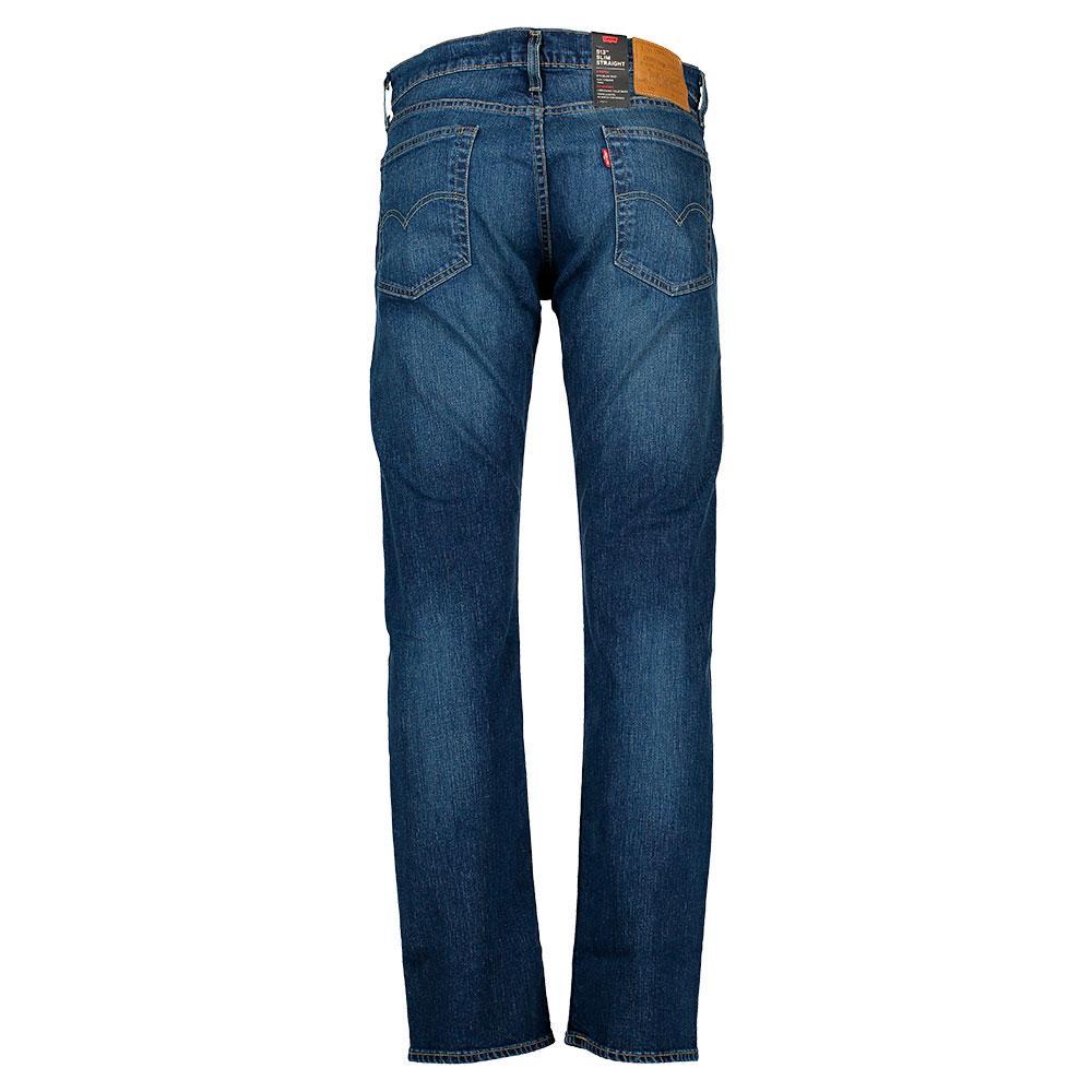 Levi´s ® 513™ Slim Straight Fit Niebieski, Dressinn Spodnie