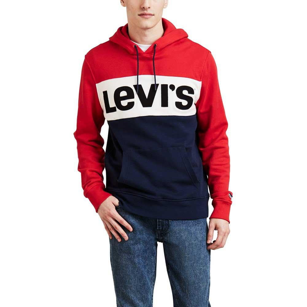 timeless design 0f501 8d912 Levi´s ® Colorblock Hoodie Rot, Dressinn