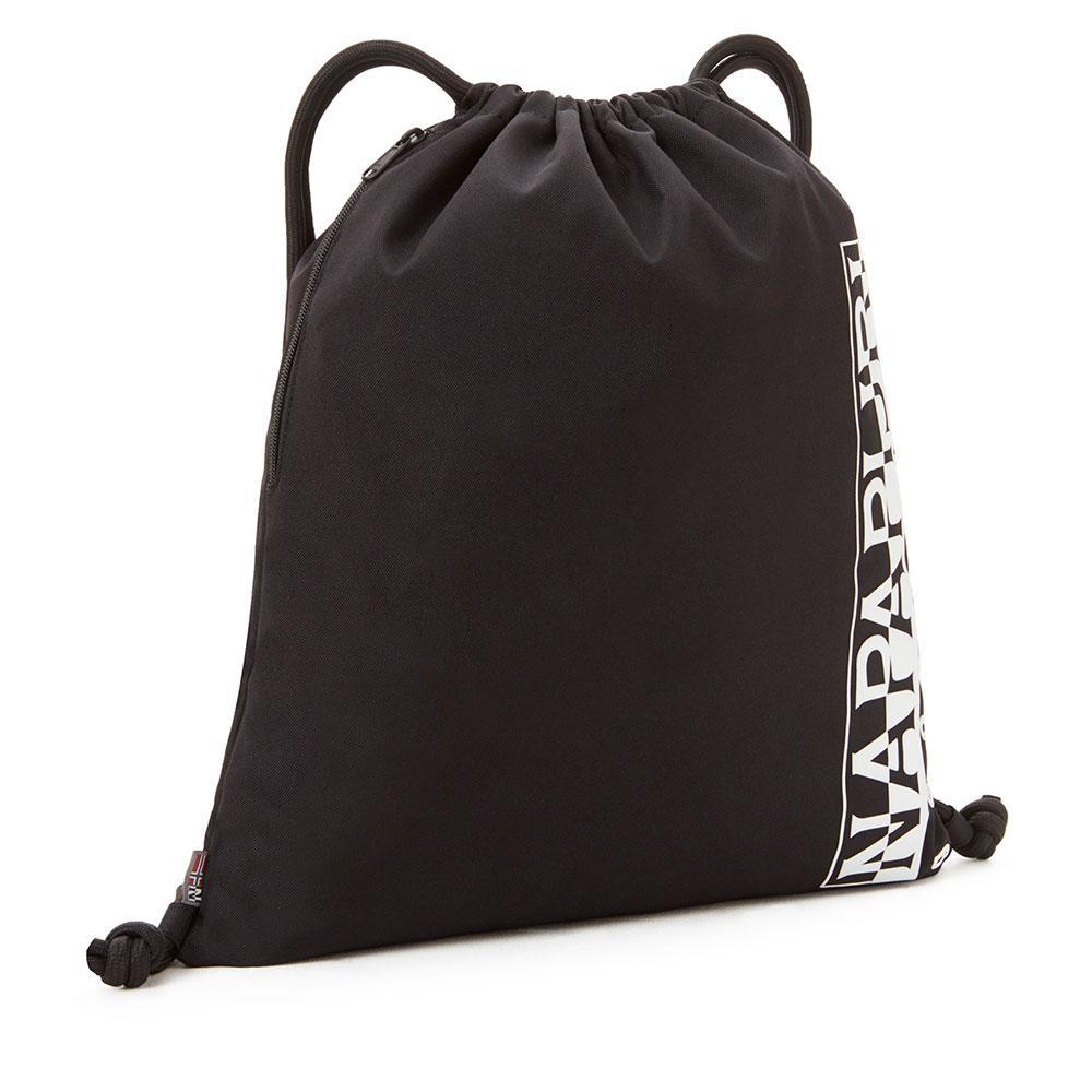 0b77e485f76 Napapijri Happy Gym Sack 1 18L Black buy and offers on Dressinn