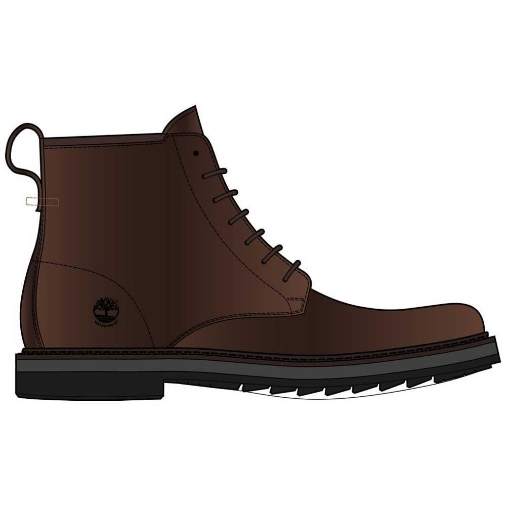 Timberland Squall Canyon Plain Toe Boot Waterproof Braun