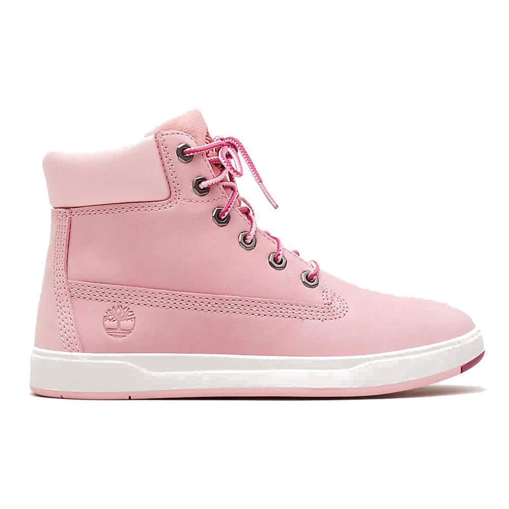 Timberland Davis Square 6 Inch Boot Youth Rosa, Dressinn