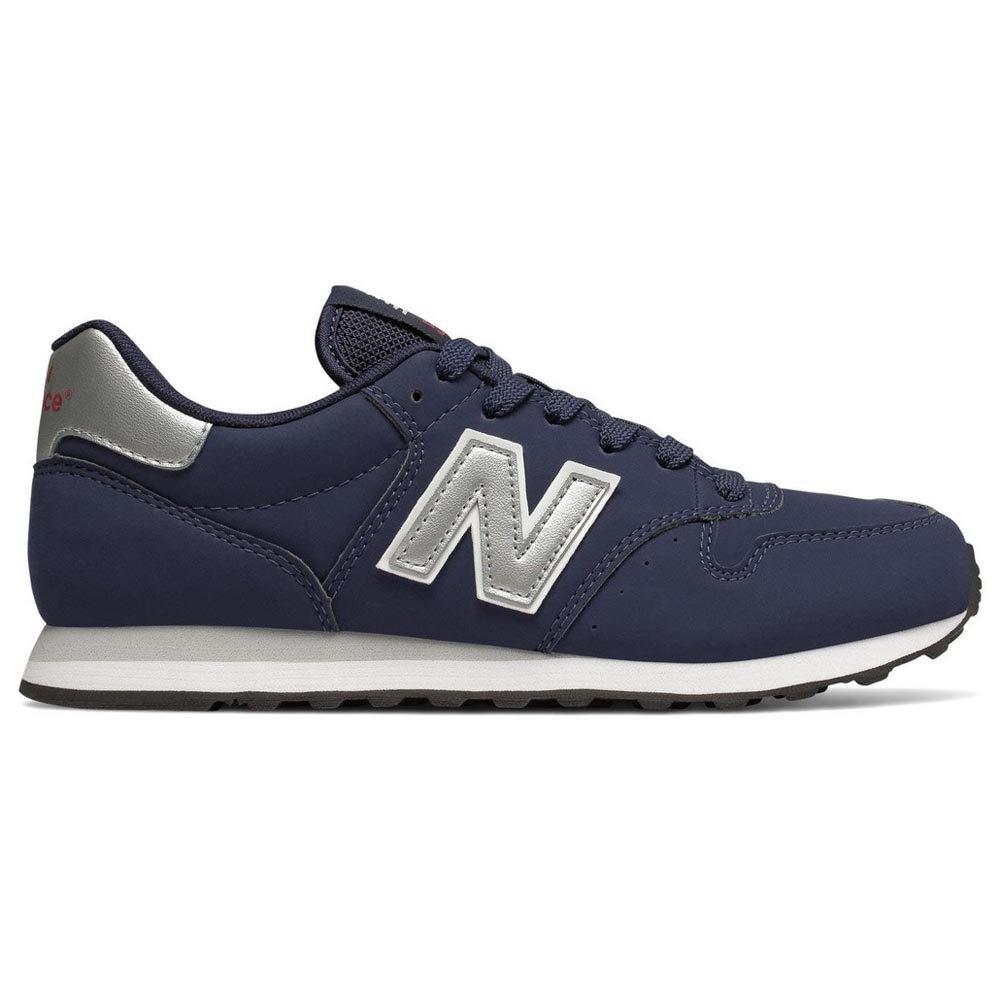 new balance 500 blauw