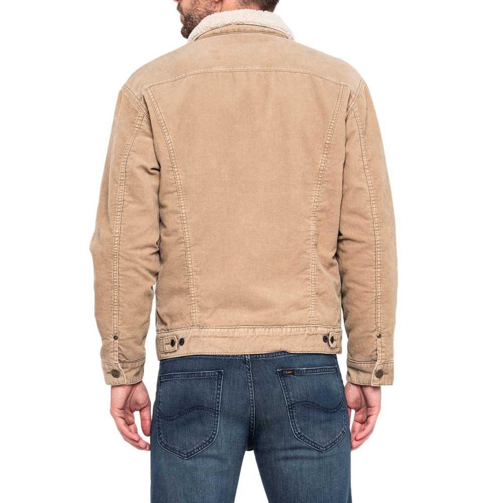 Lee Sherpa Jacket Beige kjøp og tilbud, Dressinn Jakker