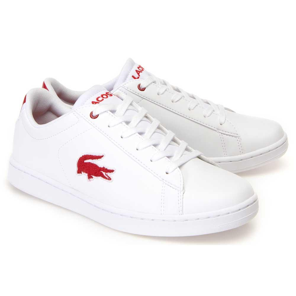 be7f8586d6da Lacoste Carnaby Evo 318 1 White buy and offers on Dressinn