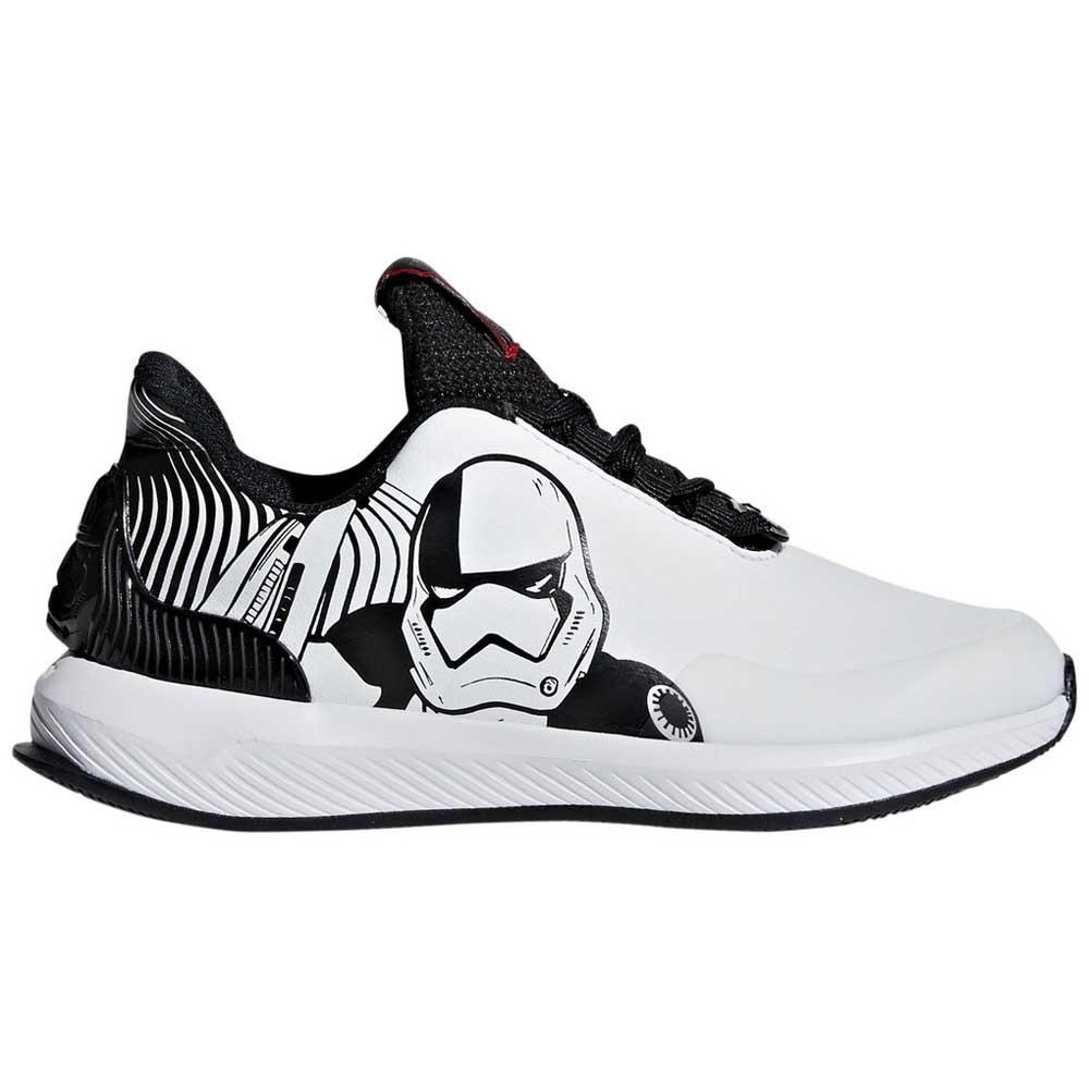 new concept 0986e d8cba adidas Rapidarun Star Wars K White buy and offers on Dressin