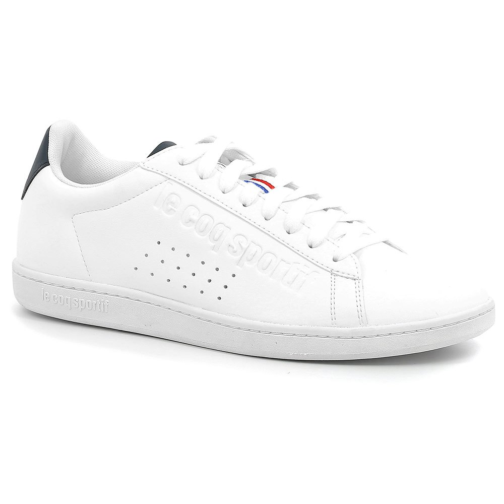 5a2376b92722 Le coq sportif Courtset Sport White buy and offers on Dressinn