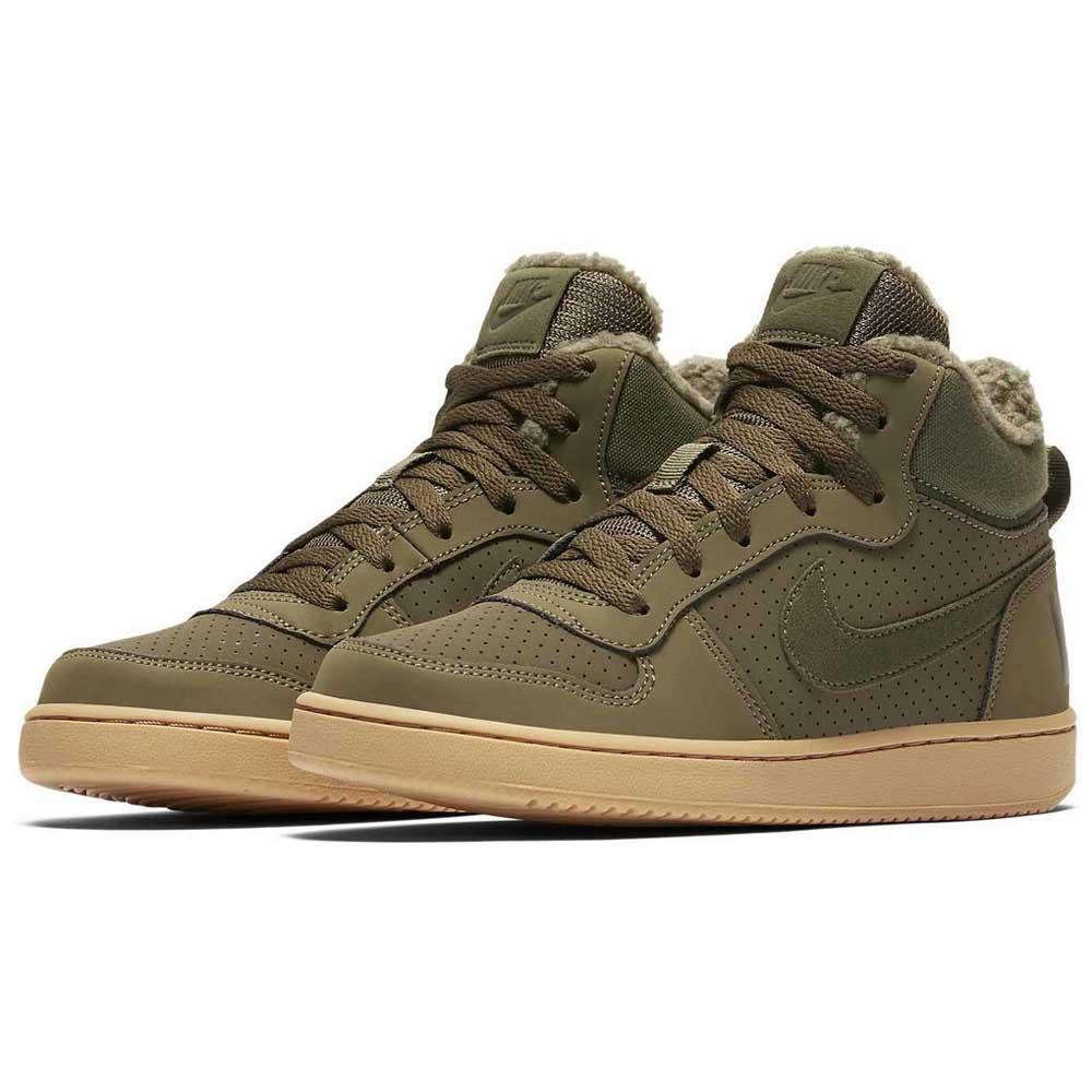 Nike Court Borough Mid Winter GS Green