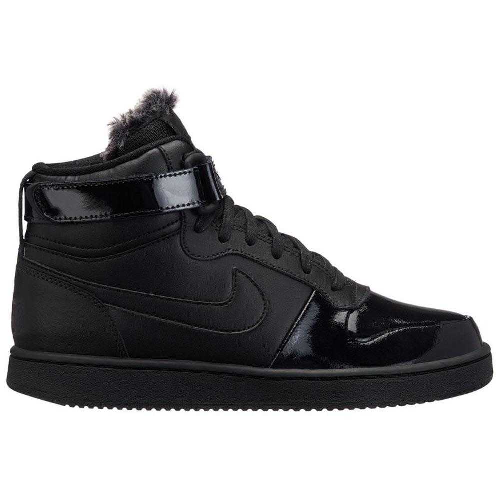 96ac1269f44a Nike Ebernon Mid Premium Black buy and offers on Dressinn