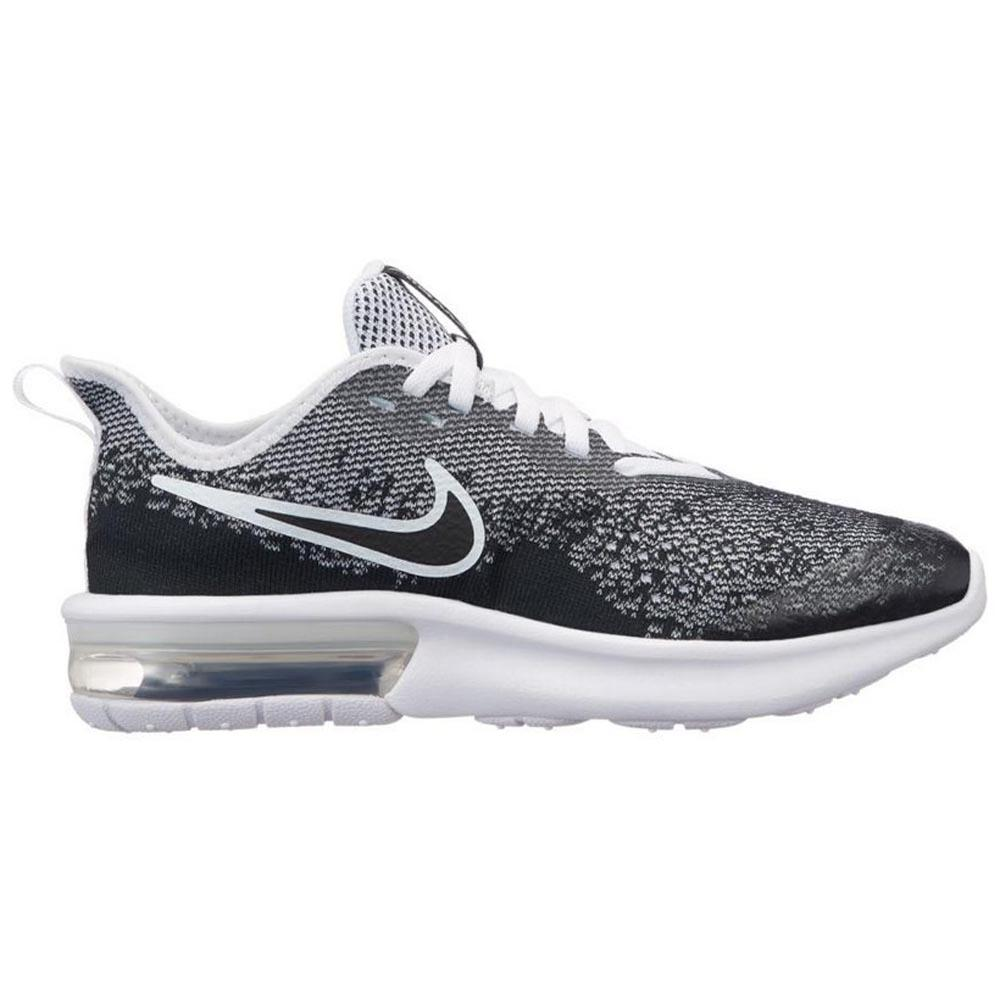 e07dfb4fbcbf Nike Air Max Sequent 4 GS Black buy and offers on Dressinn