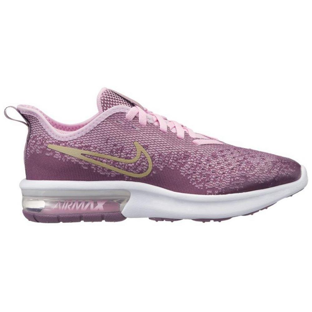 865eb90730 Nike Air Max Sequent 4 Older Kids' Shoe - Purple | AQ2245-501 | FOOTY.COM