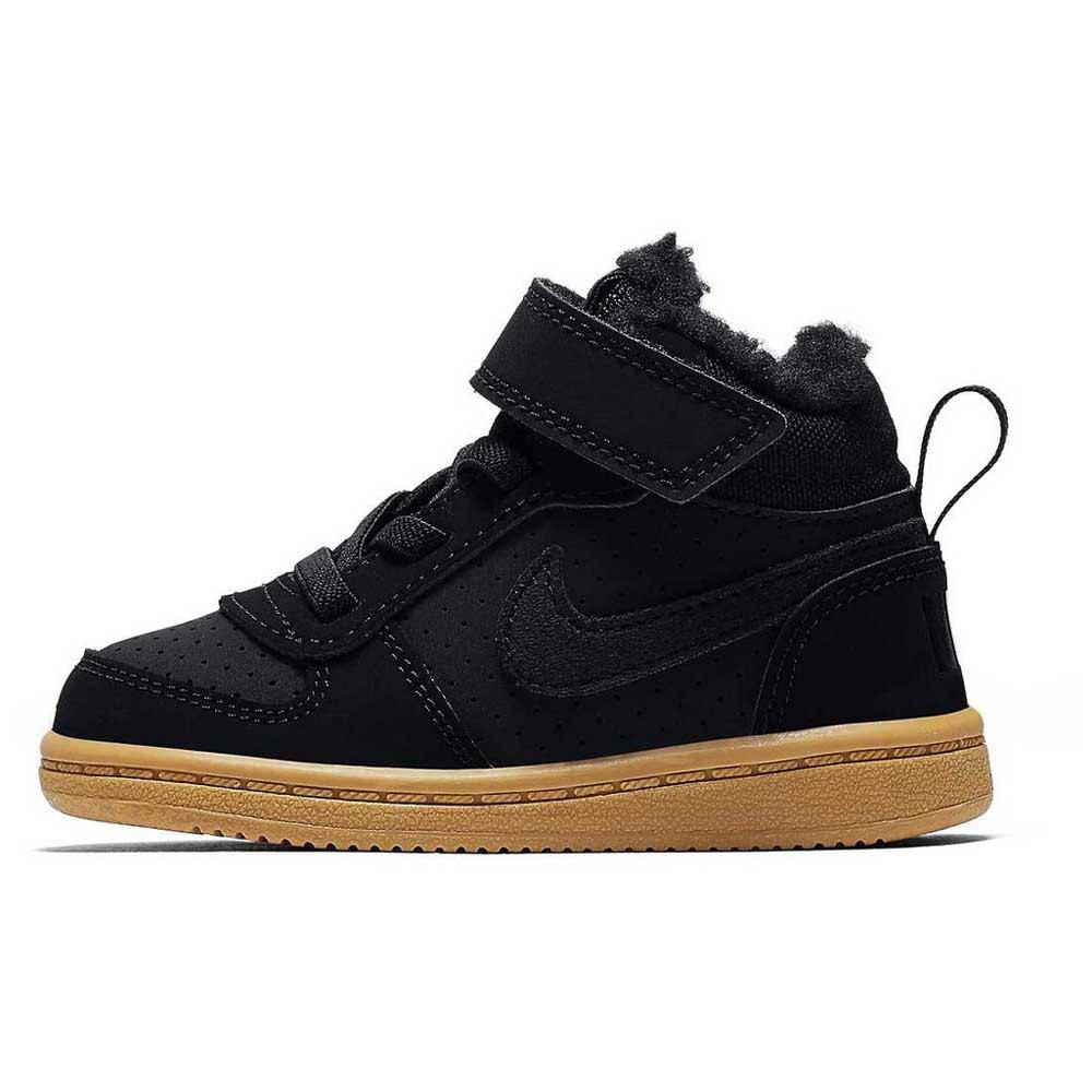 cbee207627 Nike Court Borough Mid Winter TDV Black