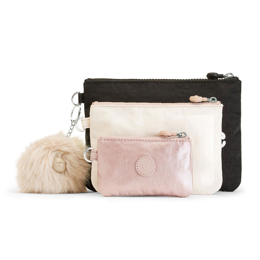 b9474ad568 Kipling Iaka 3 pouches Black buy and offers on Dressinn