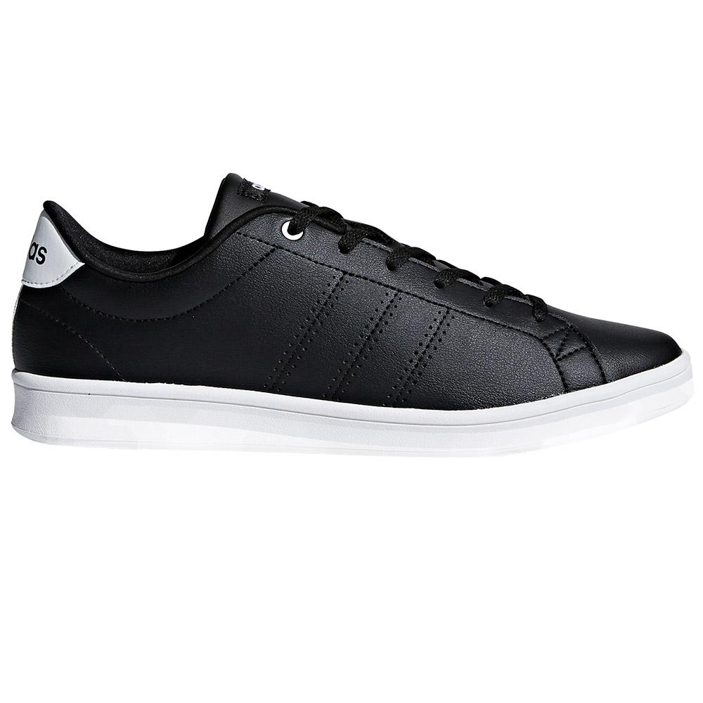 wholesale dealer 6b2d2 18322 adidas Advantage Clean QT Black buy and offers on Dressinn