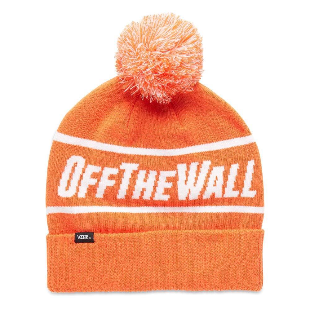 Vans Off The Wall Pom Beanie Orange buy and offers on Dressinn