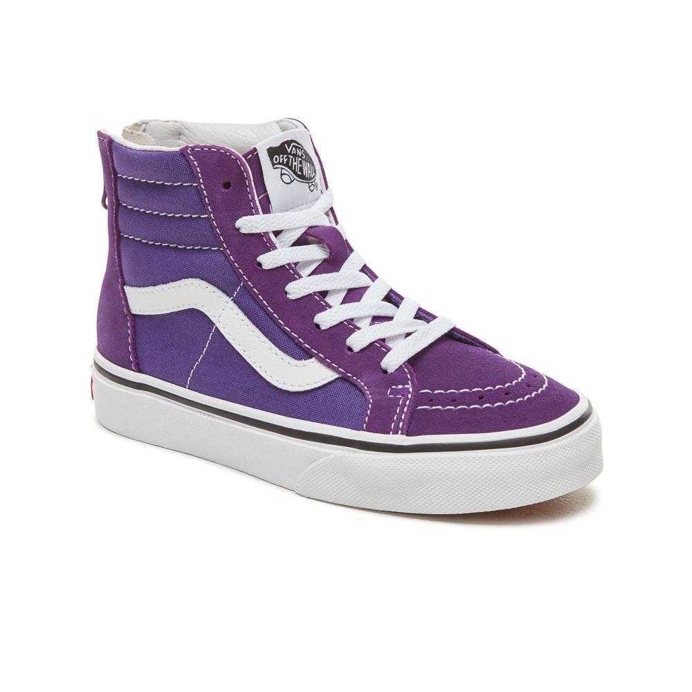 Vans SK8 Hi Zip Purple buy and offers on Dressinn