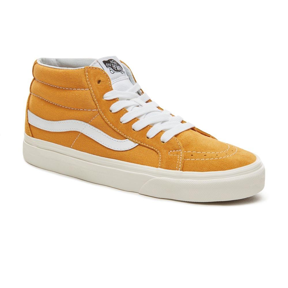 Vans SK8-Mid Reissue Yellow buy and offers on Dressinn