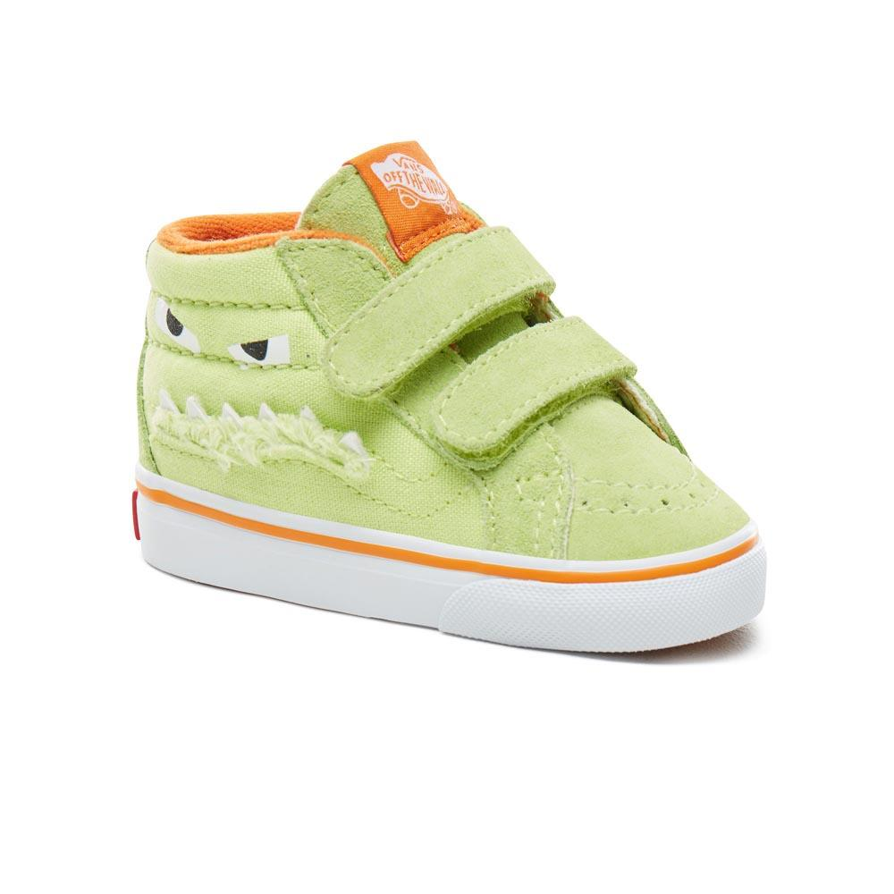 3b3bbea81a Vans Toddler SK8-Mid Reissue V Green buy and offers on Dressinn