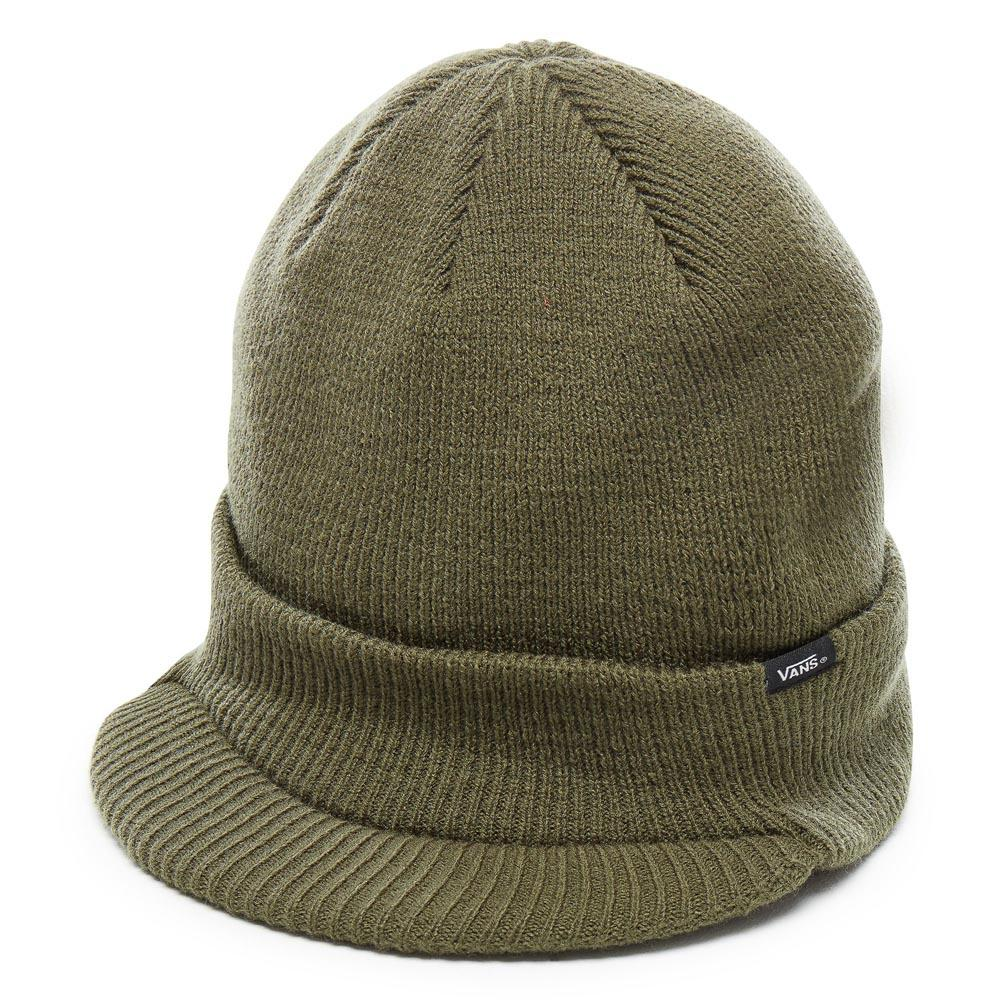 Vans Visor Cuff Beanie Green buy and offers on Dressinn c25a40fbb67