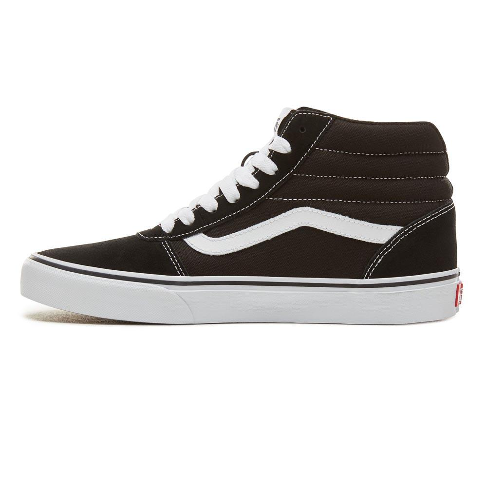 09aa16c16838 Vans Ward Hi Black buy and offers on Dressinn